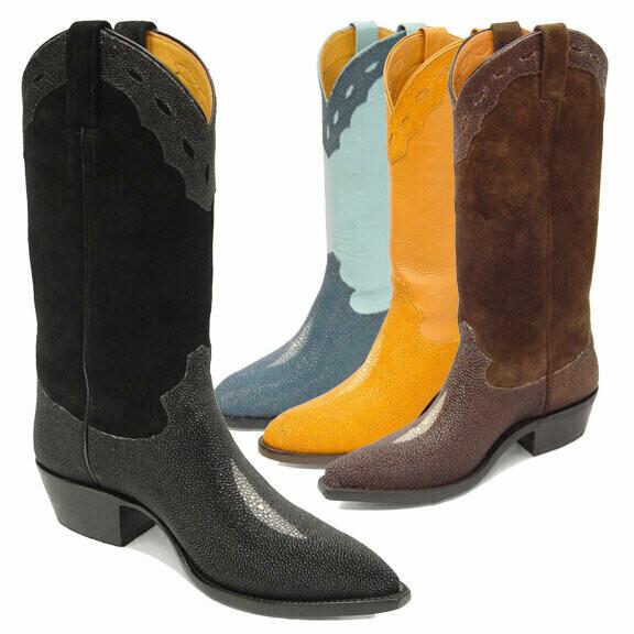 Morganstein Stingray Cowboy Boots