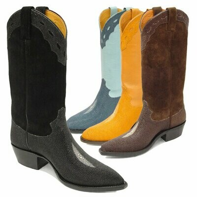 Morganstein Stingray Cowboy Boots