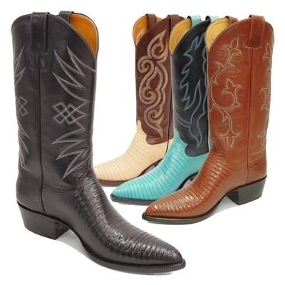 Tejus Lizard Boots