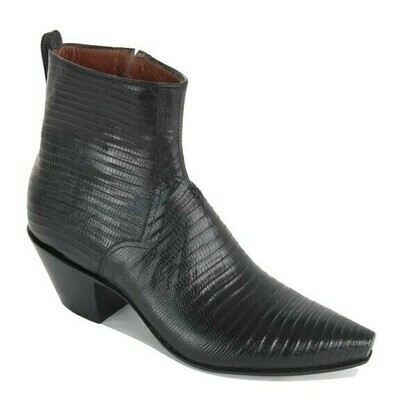 Tejus Lizard Ankle Boots