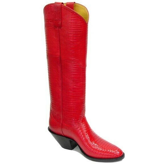 Tejus Lizard Top and Bottom Boots