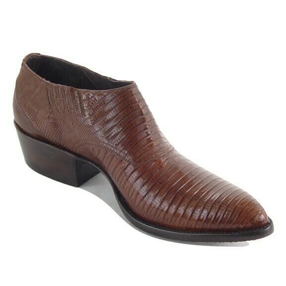 Tejus Lizard Shoe Boots