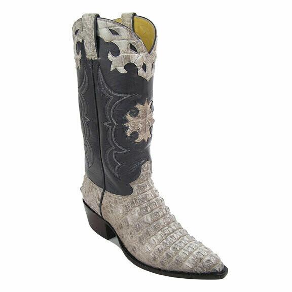 Iron Cross Hornback Nile Crocodile Cowboy Boots