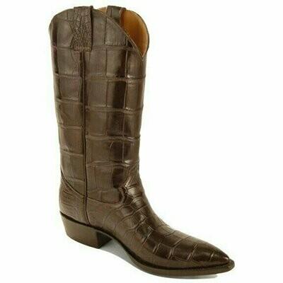 Top & Bottom Smooth Nile Crocodile Cowboy Boots