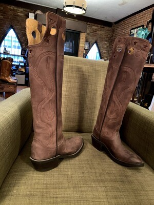 9B rope riding boots closeout