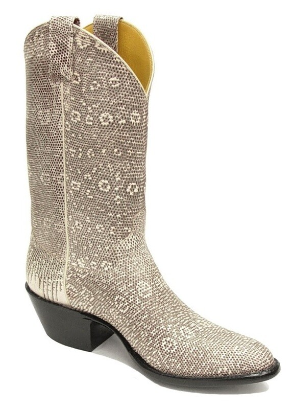 Ringtail Lizard Top and Bottom Cowboy Boots