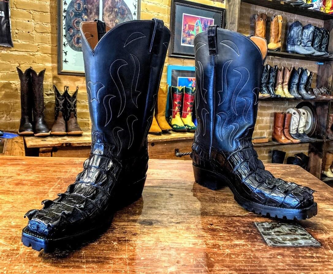 El Grande Nile Crocodile Tail Cowboy Boots