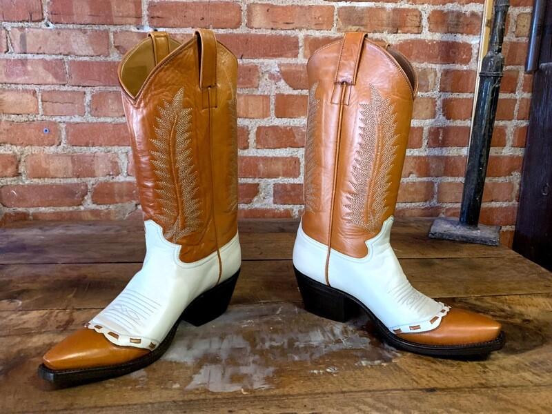 8D Men's Dance Hall Cowboy Boots Closeout