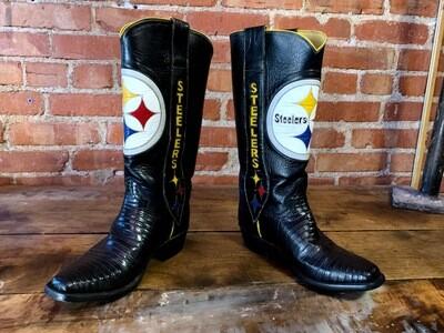 6.5C Ladies Pittsburgh Steelers Custom Closeout / pre loved