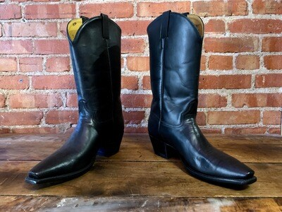 12D Slick Jim Cowboy Boots Closeout