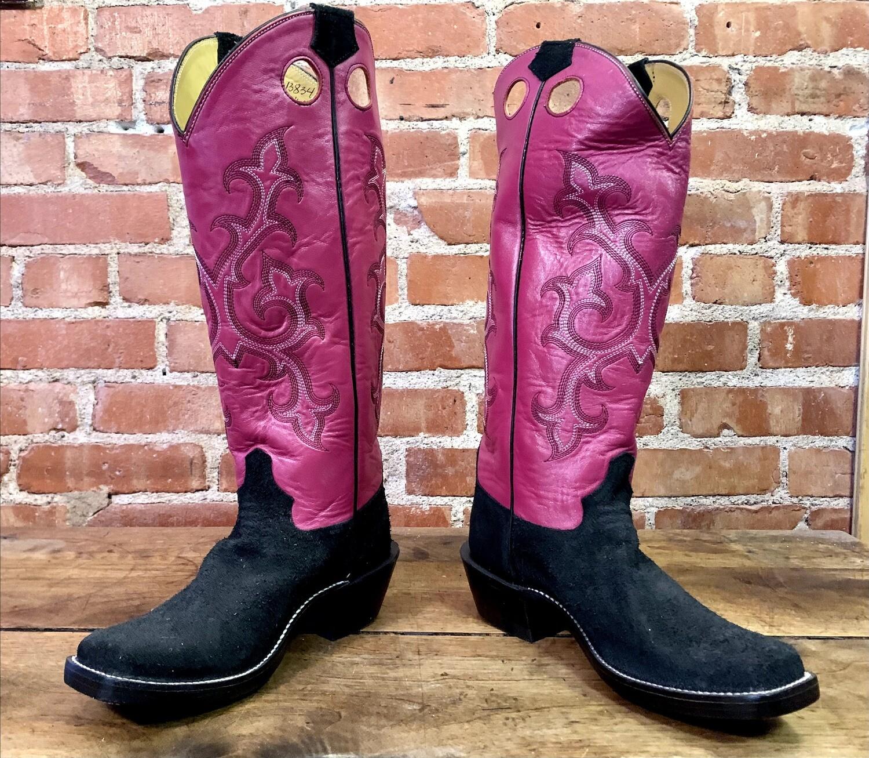 8B Ladies' Rough Out Cowboy Closeout