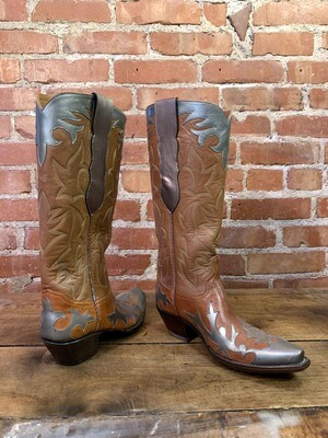 6.5B Ladies' Bronze Cowboy Closeout