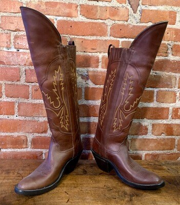 9C Ladies' Brown Riding Boots