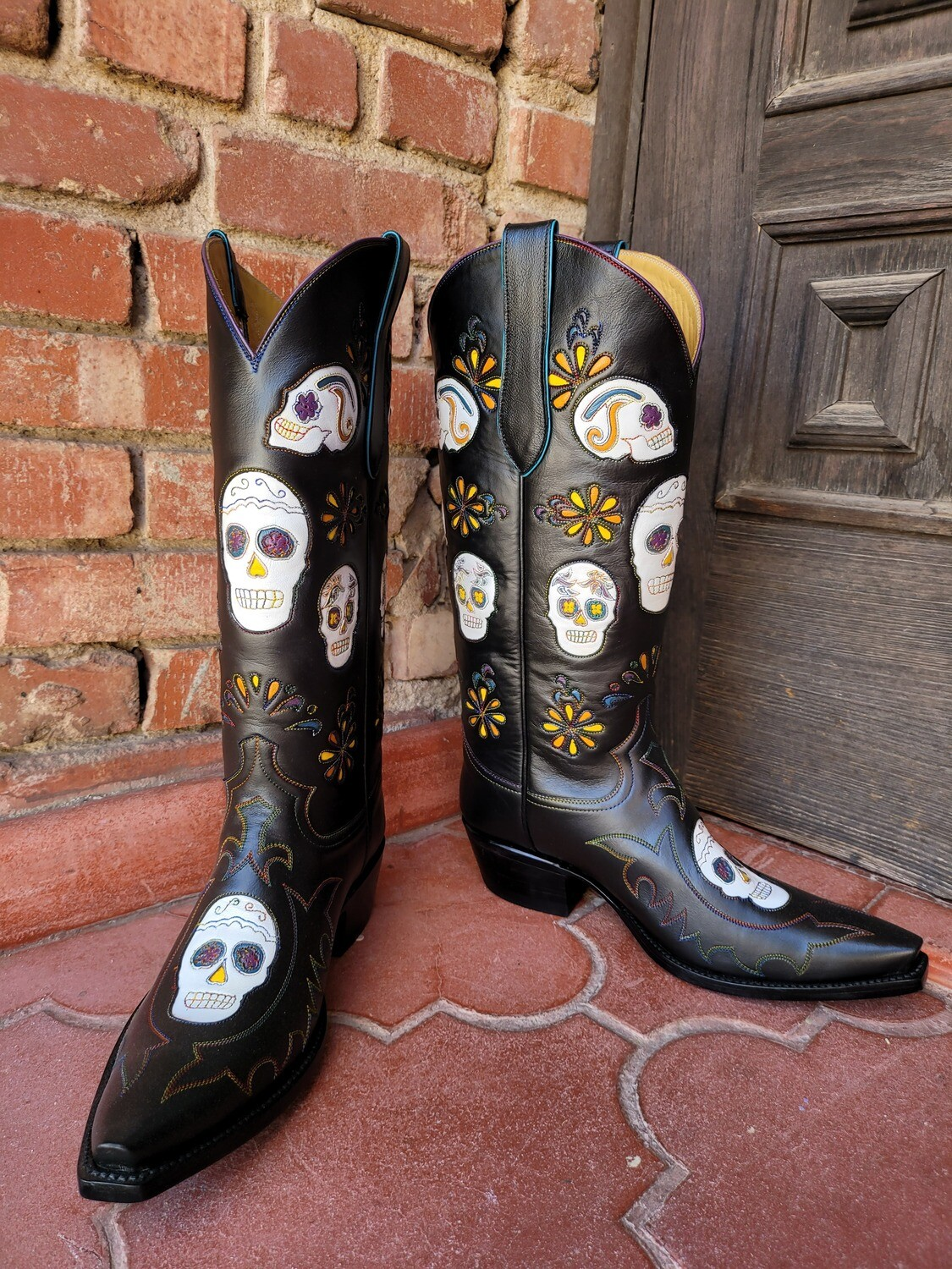 Candy Skull Boots (CLOUSEOUT)