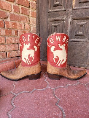 Ride On Cowboy Boots (CLOSEOUT)