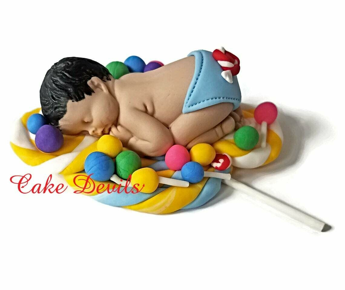 Candy Land Baby Shower Cake Topper Lollipop Cake Decorations
