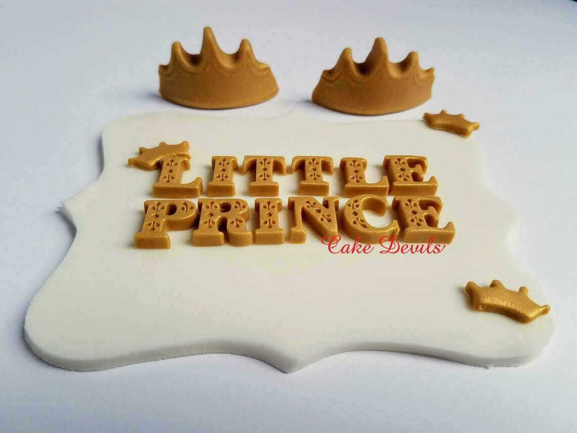 Little Prince Fondant Cake Toppers