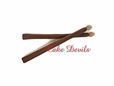Fondant Drumsticks Cake Topper