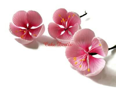Cherry Blossom Cake Topper Flowers