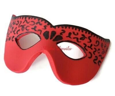 Fondant Masquerade Mask Cake Topper