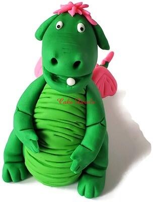 Pete's Dragon Cake Topper, Fondant Elliott
