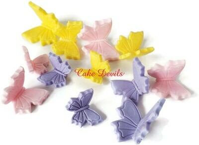 Fondant Butterfly Cake Decorations and Cupcake Toppers