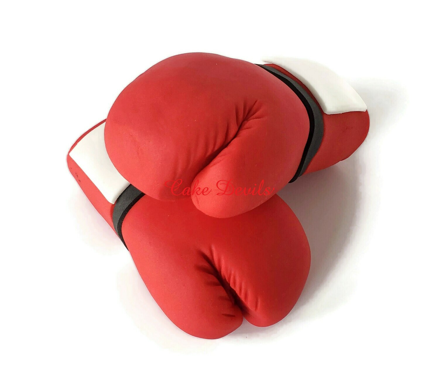 Fondant Boxing Gloves Cake Toppers, Cake Decorations for a Boxer