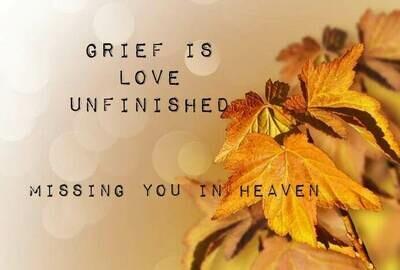 Grief Gold Flower