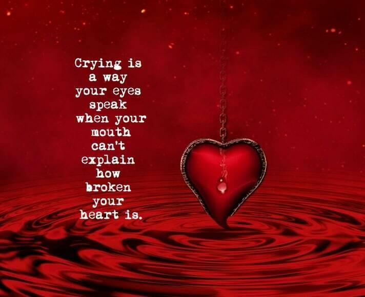 Red Heart Tears