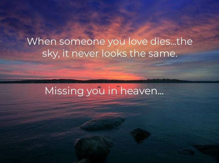 Missing You Sunset Sky