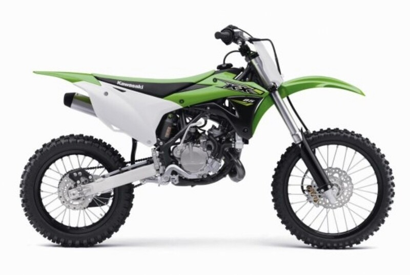 Noleggio Minicross 85cc. Kawasaki