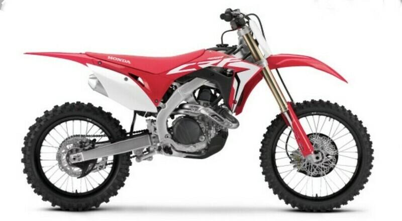 Noleggio Motocross Honda CRF 250 R