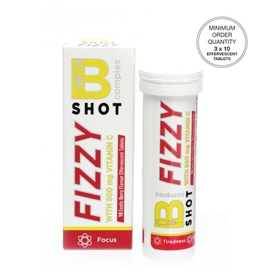 Bco SHOT FIZZY  [Min. order 3 units @ R90 each]