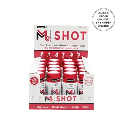 MG Magnesium SHOT  Mixed Berry [Min. order 1 Shipper]