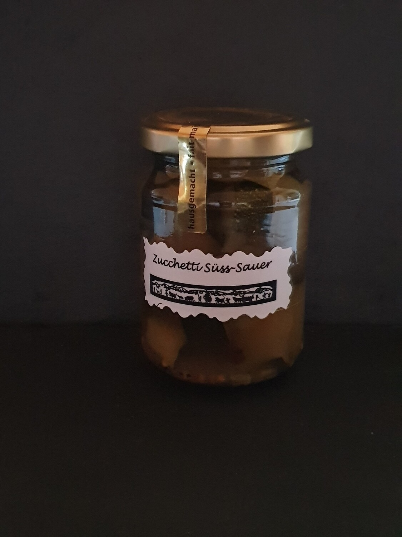Zuccetti süss-sauer