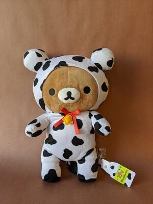 Large Rilakkuma Plush - Cow Series