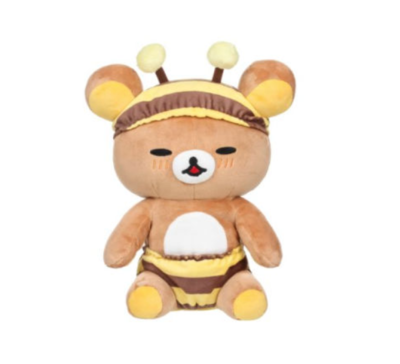 Seated Rilakkuma Plush - Bee Series