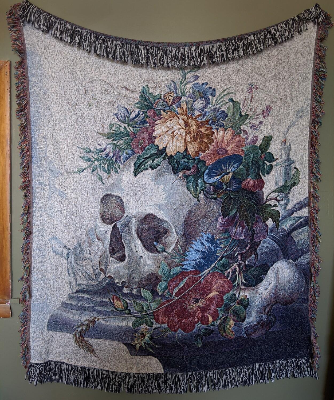 Vanitas Tapestry Blanket