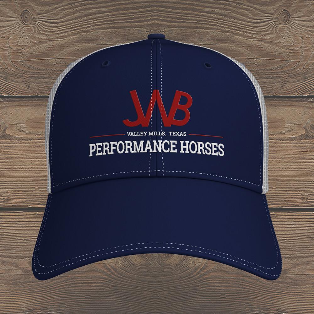 JWB Performance Horses Trucker Hat