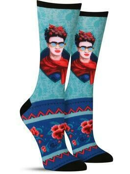 Frida W/Sunglasses Socks