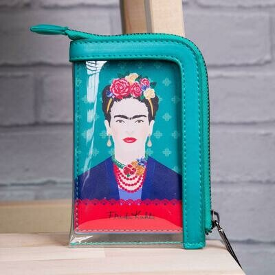 Frida Kahlo Green Vogue Card Purse