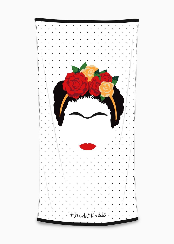 Frida Kahlo Minimalist Towel 75x150cm