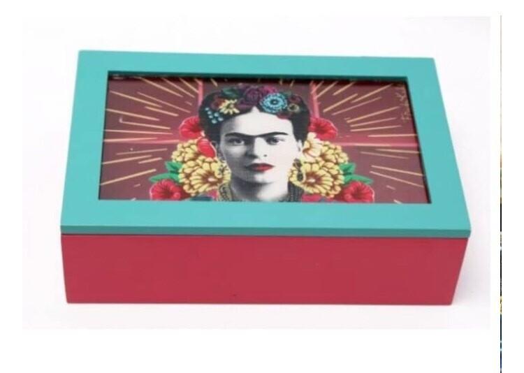 Frida Kahlo Tea/ Jewelry box