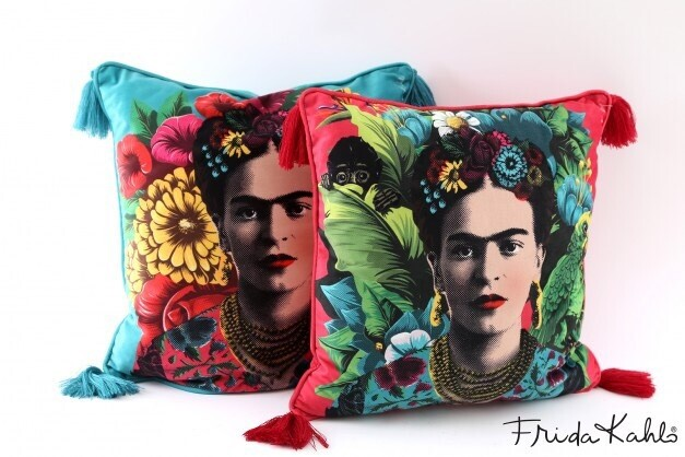 Frida Kahlo Print Cushion