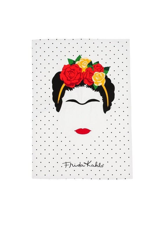 Frida kahlo Minimalist tea Towel