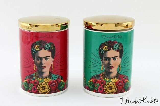 Frida Kahlo Canisters