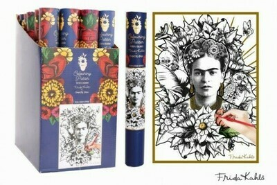FRIDA KAHLO COLOUR IN POSTER