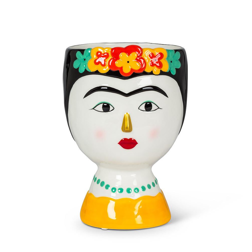 Medium Lady with Flowers Vase