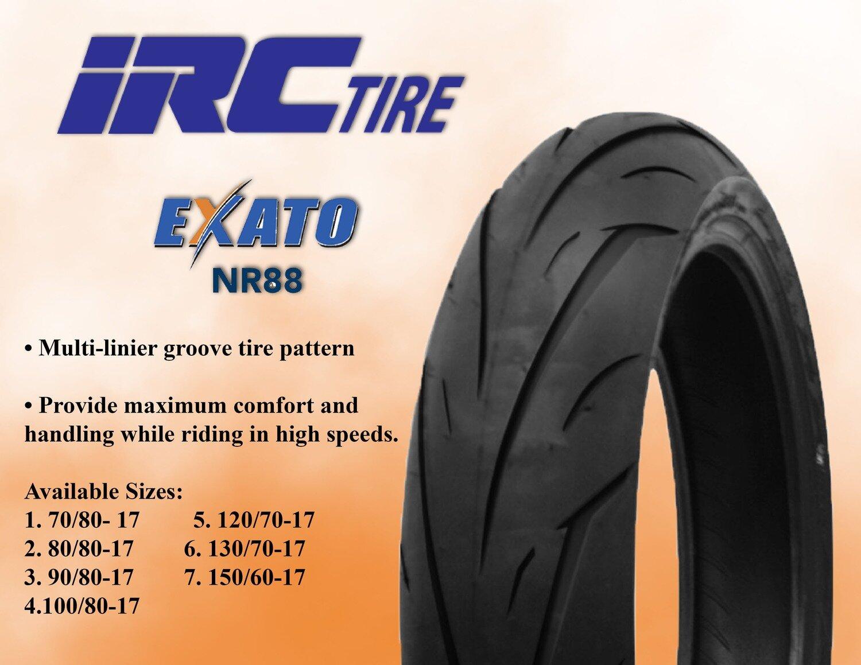 TIRE  IRC 150x60x17  NR88  EXATO TL 66S RR