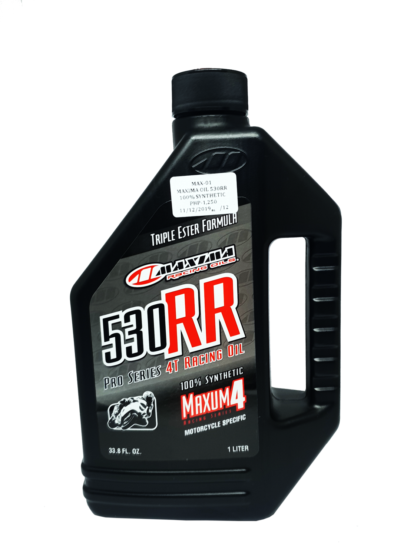 MAXIMA OIL 530RR 100% SYNTHETIC
